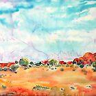 Womens Rocks Alice Springs Australia by Lorna Gerard