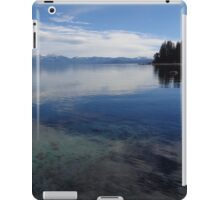 Shades of Blue at Lake Tahoe iPad Case/Skin