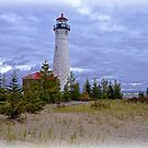 Crisp Point Lighthouse by Mike Griffiths