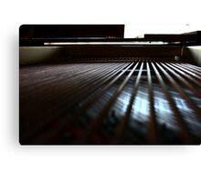 Piano Wire Canvas Print