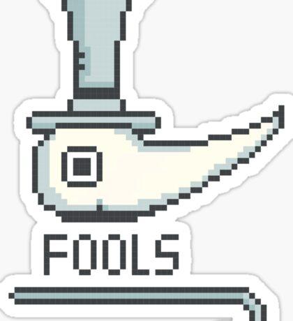 Excalibur 8-Bit Sticker