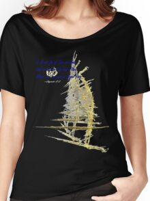 *SAILING, LOST, THROUGH TIME AND SPACE* Women's Relaxed Fit T-Shirt