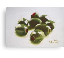 8 Olives Canvas Print