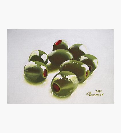 8 Olives Photographic Print
