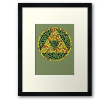 Can You See the Triforce, Link? Framed Print
