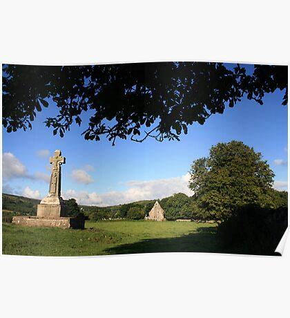 Celtic Cross at Dysert o Dea Poster