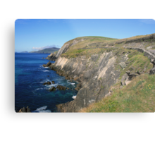 Dingle coastline Metal Print