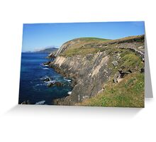 Dingle coastline Greeting Card