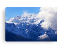 Snow in Southern Africa Canvas Print