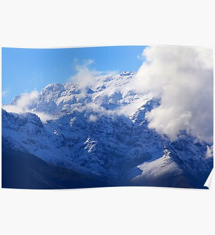 Snow in Southern Africa Poster