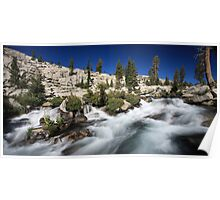 Pyramid Creek in Desolation Wilderness Poster