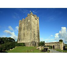 Dysart O Dea castle Photographic Print