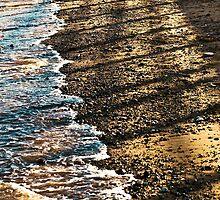 Sea Sand and Shadows by Richard Hamilton-Veal