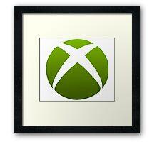 Xbox Logo Design Framed Print