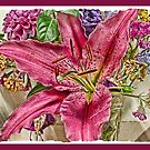 Flowers from the garden by Elaine Game