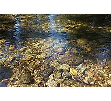Clear Clean Water Photographic Print