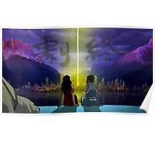 Korrasami with End Credits Poster