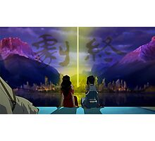 Korrasami with End Credits Photographic Print