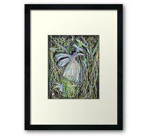 Forest fairy Framed Print