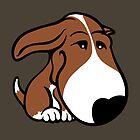 Soppy Bull Terrier Brown and White Coat by Sookiesooker