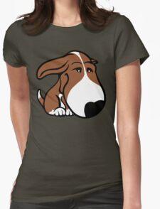 Soppy Bull Terrier Brown and White Coat T-Shirt