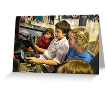 Racing competition Greeting Card