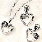 Heart Jewelry by Celinda