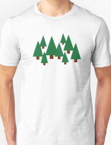 Forest fir trees T-Shirt