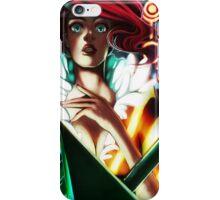 Red - Transistor iPhone Case/Skin