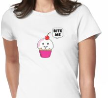 Cupcakes (v2) Womens Fitted T-Shirt