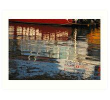 Batemans Bay Reflections. Art Print