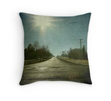 Morning Town, Maitland Street, Uralla, New South Wales Throw Pillow