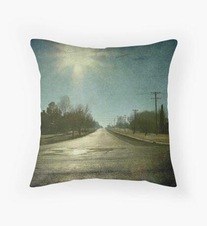 Morning Town, Maitland Street, Uralla, New South Wales Throw Pillow