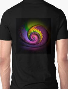 psychedelic, FRACTAL BUDS, prints, posters, wall art, decor, gifts Unisex T-Shirt