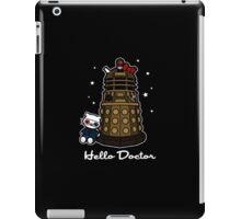 Hello Doctor - Doctor Who themed Hello Kitty Design iPad Case/Skin