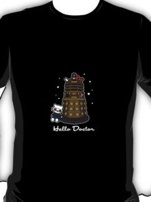 Hello Doctor - Doctor Who themed Hello Kitty Design T-Shirt