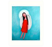 Flying Angel Art Print