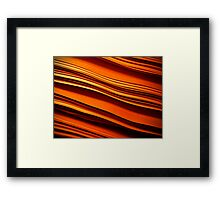 red hot papers Framed Print
