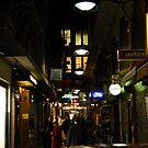 Hidden Laneway by Justin  Robertson