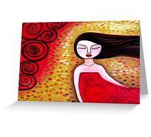 Red Sea Breeze Greeting Card
