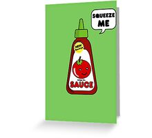 Special Sauce v2 Greeting Card