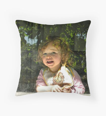 Hello World! Throw Pillow