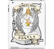White Sack Angels: Defiance Forever! iPad Case/Skin