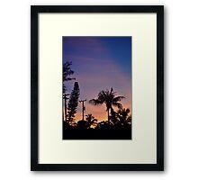 Floridian Sunrise Framed Print