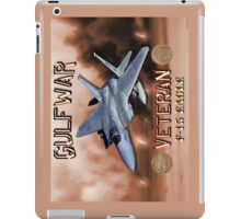 F-15 Eagle Gulf War Veteran iPad Case/Skin