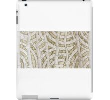 Tree Textile Etching Forest Collection iPad Case/Skin