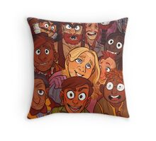 It's time to start the music... Throw Pillow