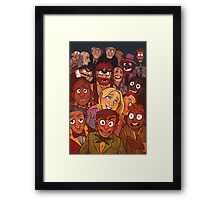 It's time to start the music... Framed Print