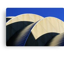 Kauffman Center Curves and Shadows Canvas Print