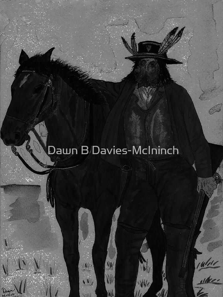 The Lone Scout by Dawn B Davies-McIninch